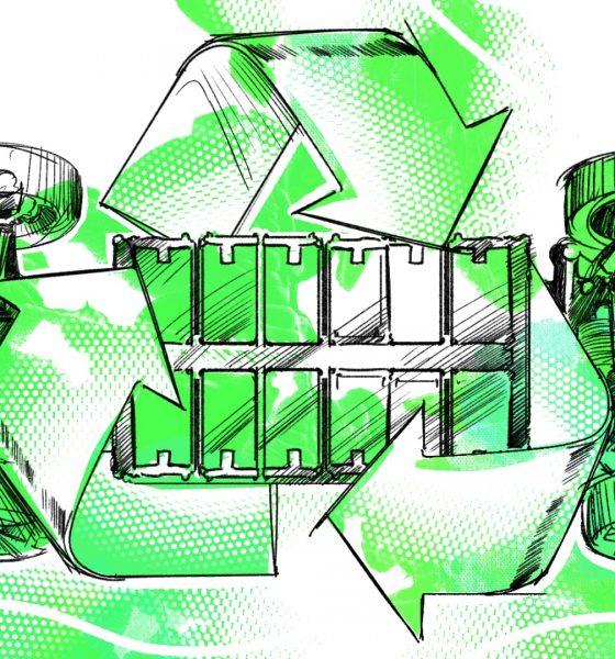 riciclo delle batterie elettriche