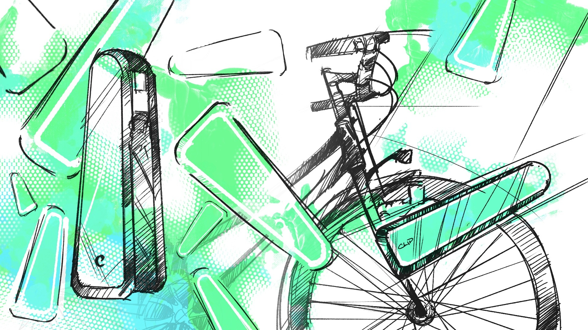 CLIP kit e-bike