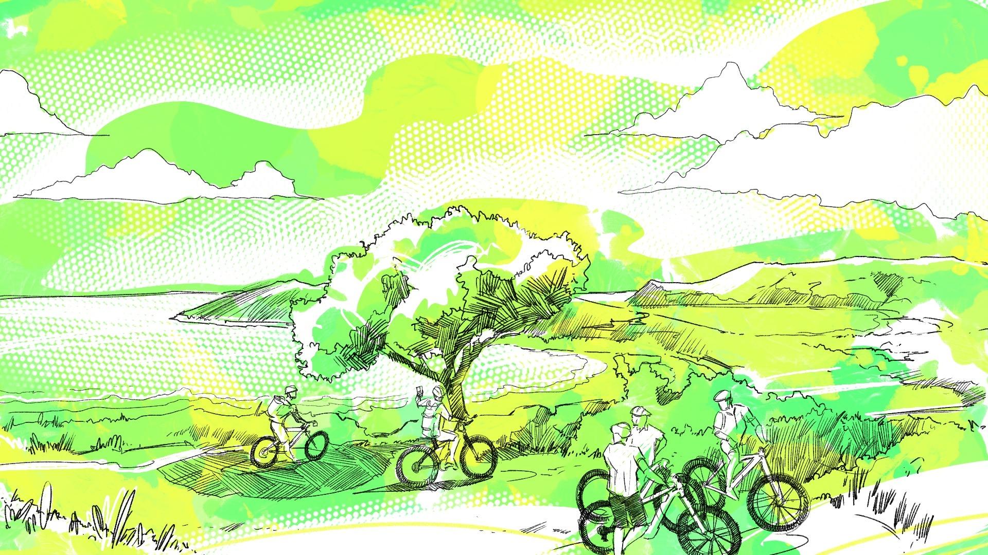 Escursioni in bici elettrica a luglio